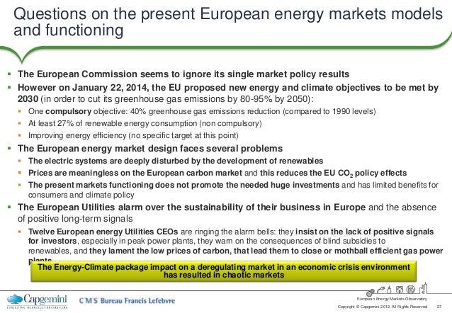 The EU Energy Market