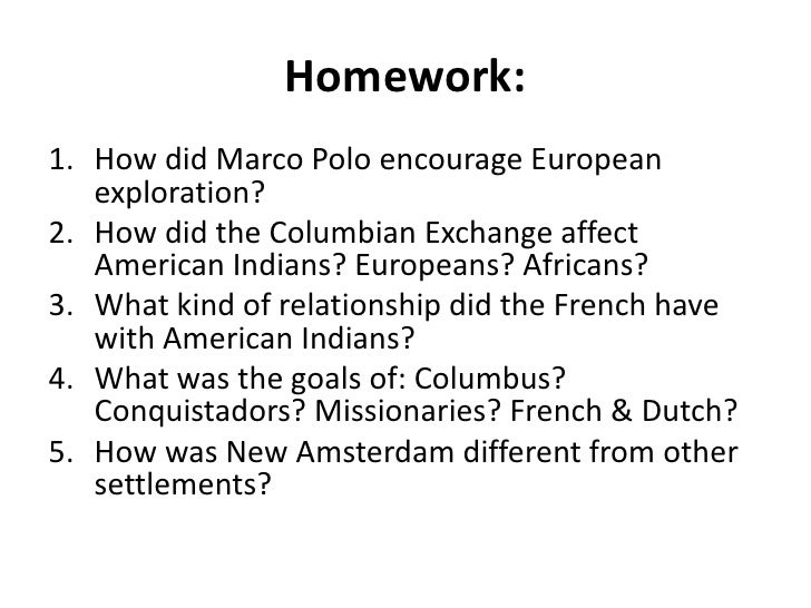 how did the europeans affect the Focus question: how did the beliefs and needs of the dutch, english, and french affect native americans objective: by examining primary and secondary documents students will be able to.