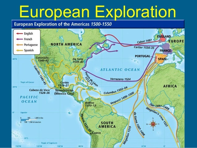 Early Voyages Of Exploration Interactive Map Through: European Exploration