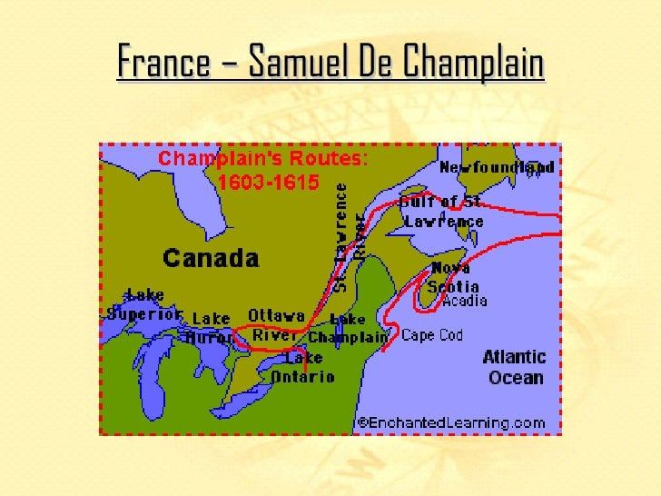 European exploration of canada france samuel de champlain gumiabroncs Image collections