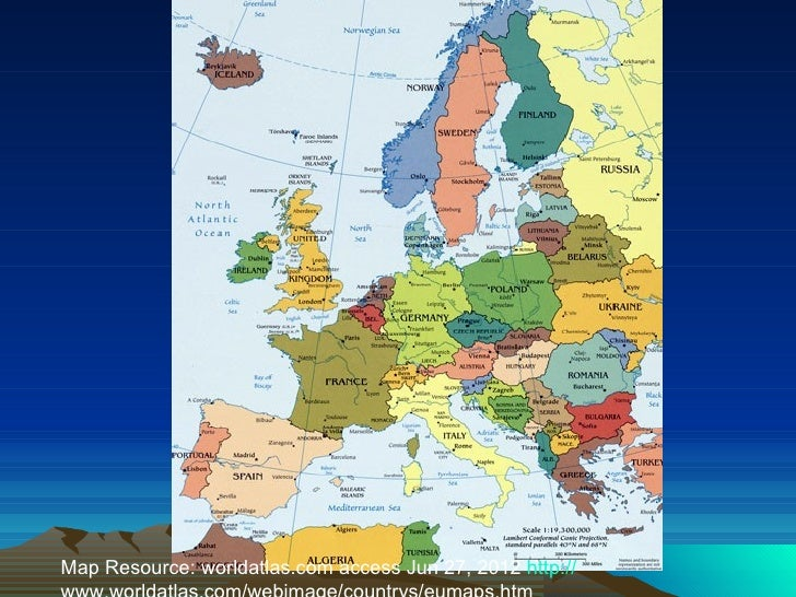 European geography map resource worldatlas access jun 27 2012 http sciox Images