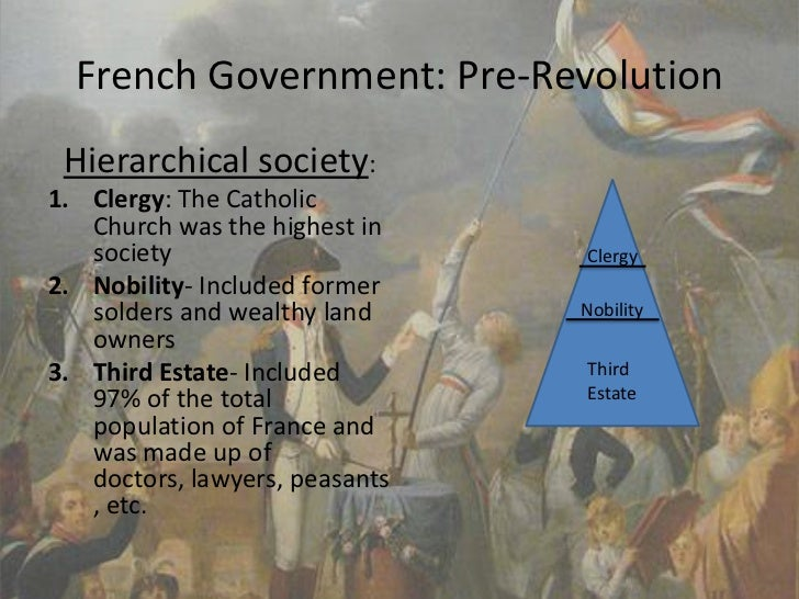 pre revolutionary france