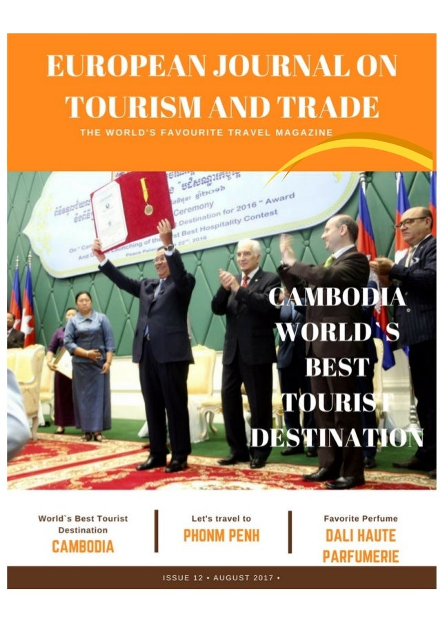 EUROPEAN JOURNAL OF TOURISM AND TRADE Quarterly Journal of Tourism Information General Manager: Nicolae Nicolae ISSUE 13 ,...
