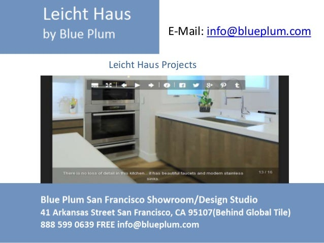 European Kitchen Designs Leichthaus