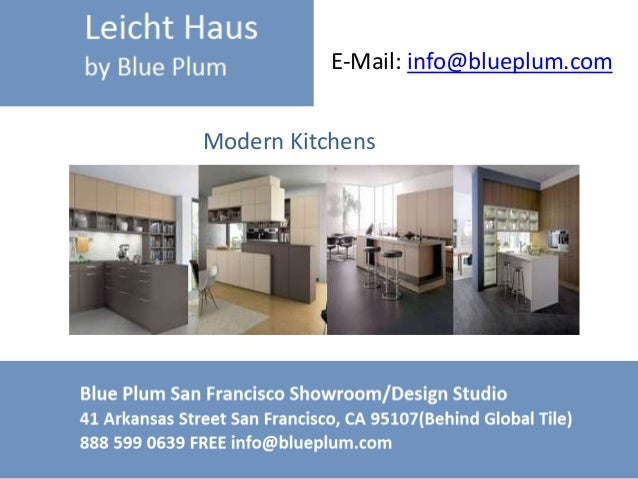 European Kitchen Designs Leichthaus
