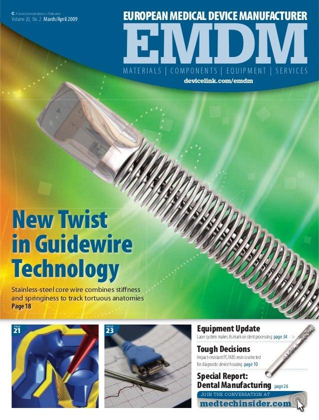 European medical device magazine - article on Biodomotica