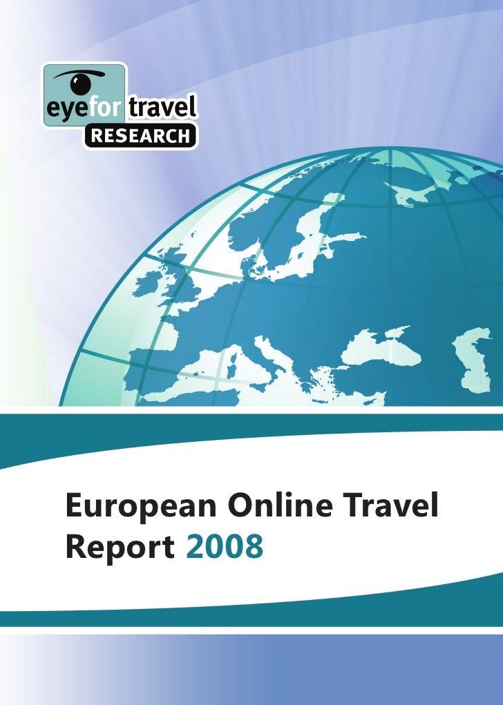 European Online Travel Report 2008