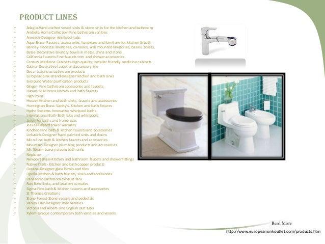 European sink outlet 2 Slide 3