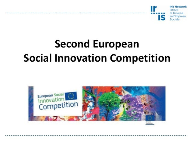 Second European Social Innovation Competition