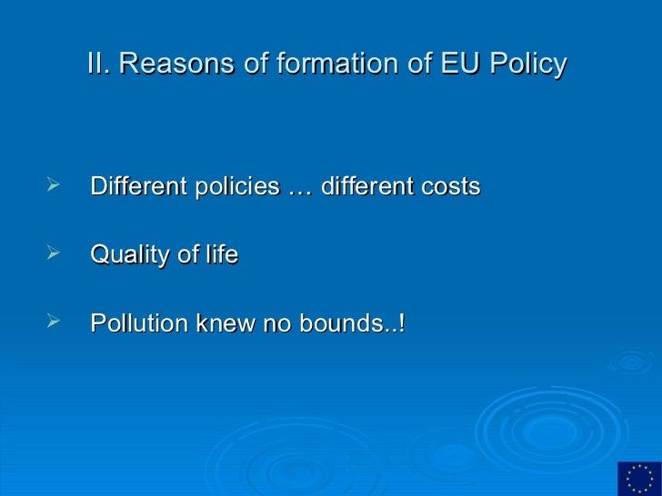 European Union Environmental Policy