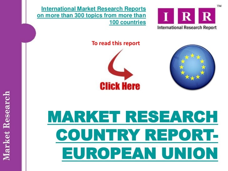 international market resarch