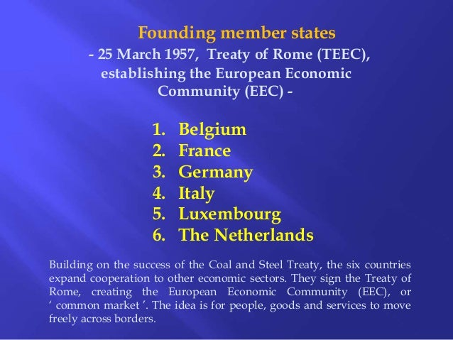an introduction to the european union and the european economic community The european union (eu) is a group of 28 european countries  from what used  to be called the european economic community (eec.