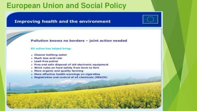 """an analysis of the social policy of the european union """"the eu's evolving social policy and national models""""  in addition to analysing  changes in overall occupational employment levels it is important to consider."""