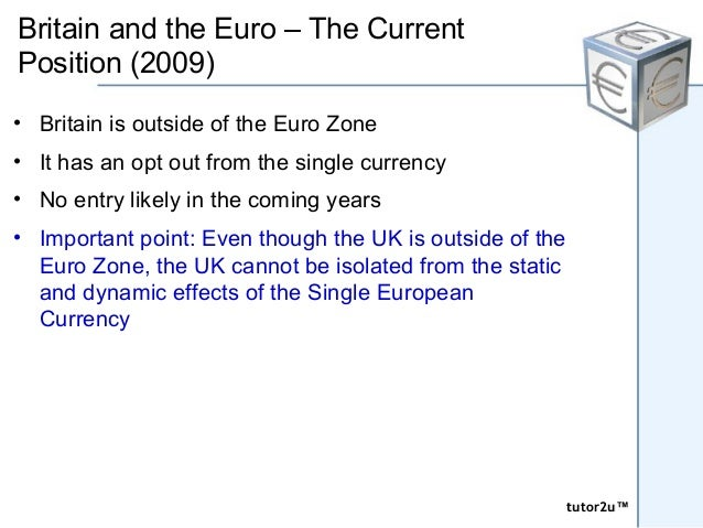 An assessment on the arguments for and against a single european currency