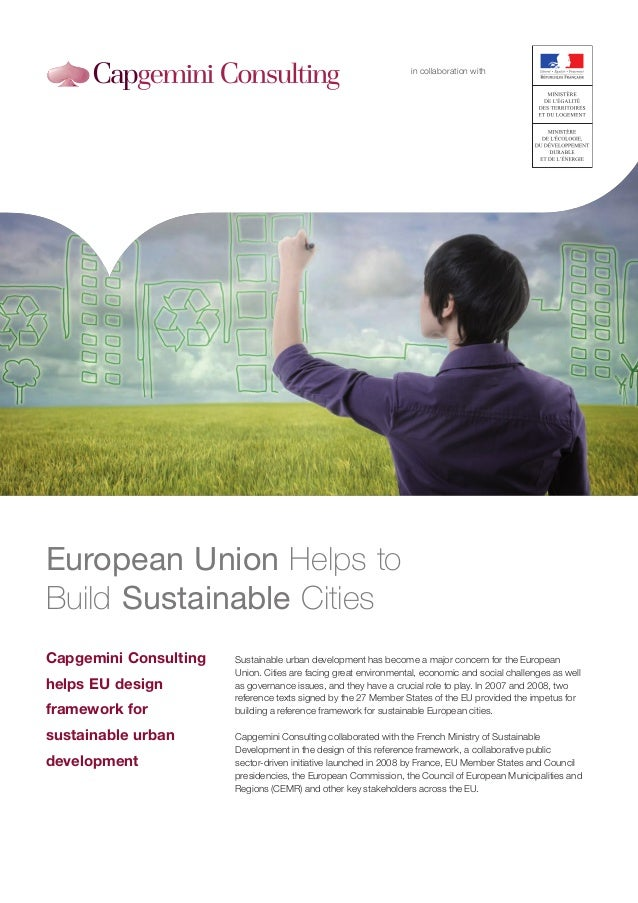 in collaboration withEuropean Union Helps toBuild Sustainable CitiesCapgemini Consulting   Sustainable urban development h...
