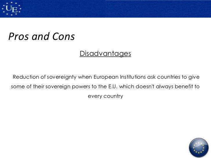 European union pros and cons essays
