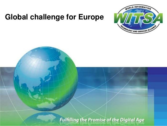 Global challenge for Europe