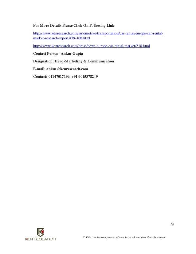 Car rental industry germany