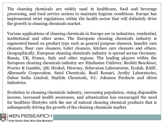 Europe Cleaning Chemicals Market Research Report, Market