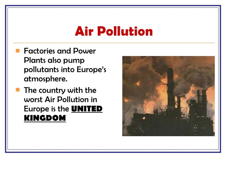 Issue of air pollution in portland