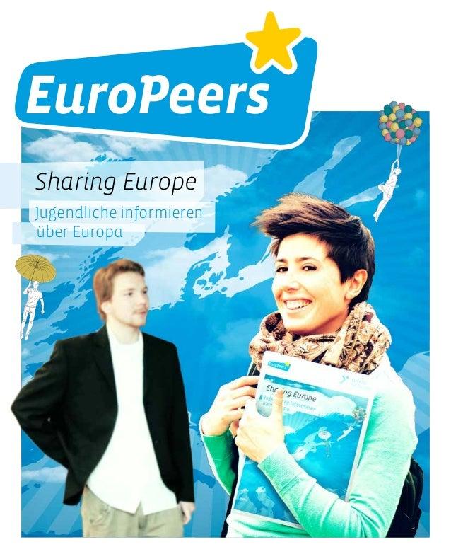 Sharing Europe Jugendliche informieren über Europa