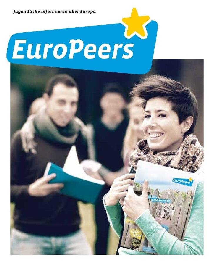 Jugendliche informieren über Europa