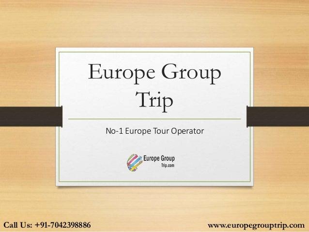 Europe Group Trip 24