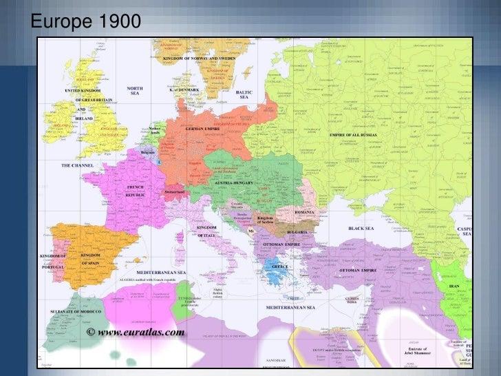 Europe 1800; 9.