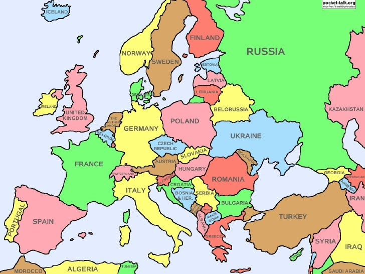 Map Europe Map.Europe Map Study