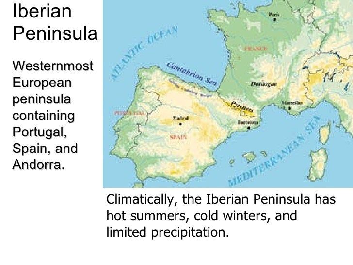 Peninsula In Europe Map.Europe Map Study