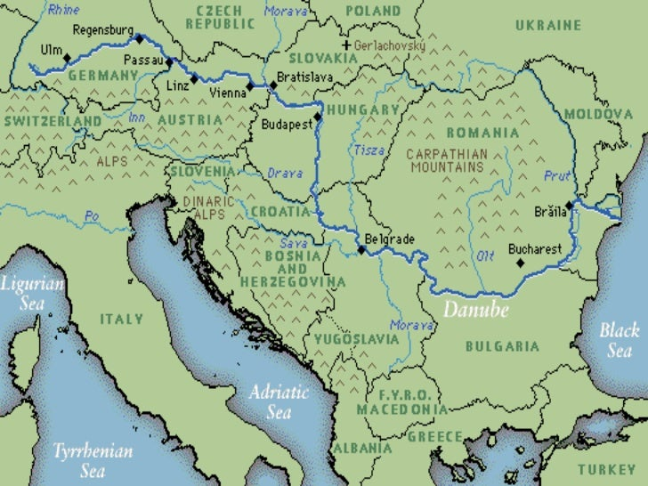 Map Of Europe With Bodies Of Water.Europe Physical Map Mountains Picture Gallery For Website With