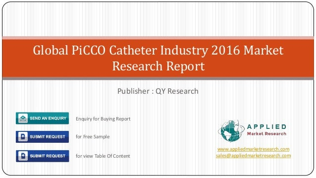 Europe pi cco catheter market 2016 industry research report