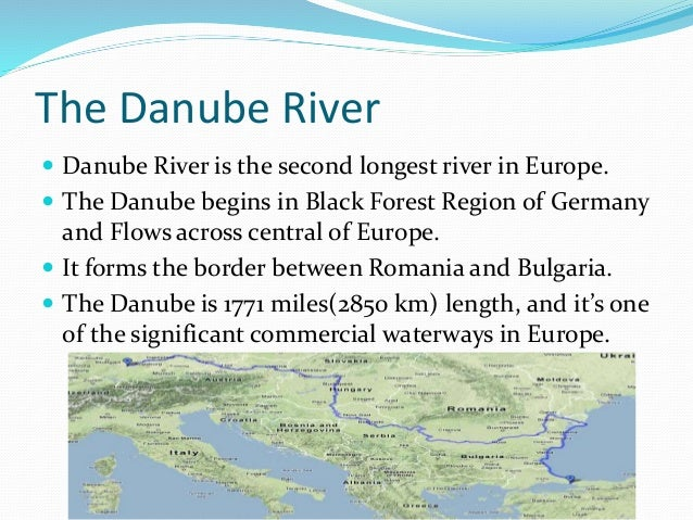 Major Rivers In Europe Map.Europe S Famous Rivers
