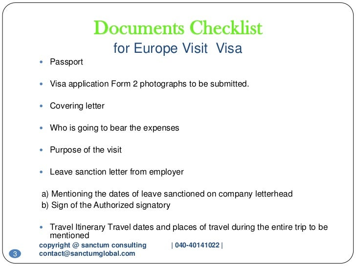 europe-visit-visa-sanctum-consulting-3-728 Visa Application Form Belgium Emby on