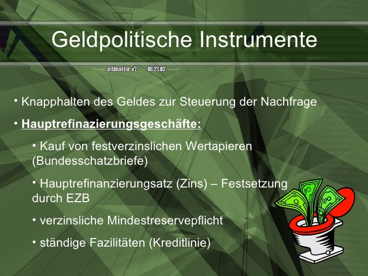 Ezb Geldpolitische Instrumente