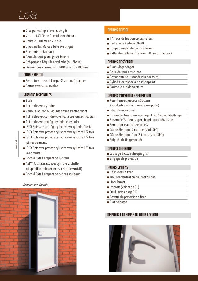 catalogue installateurs europliage 2013 portes blind es design. Black Bedroom Furniture Sets. Home Design Ideas