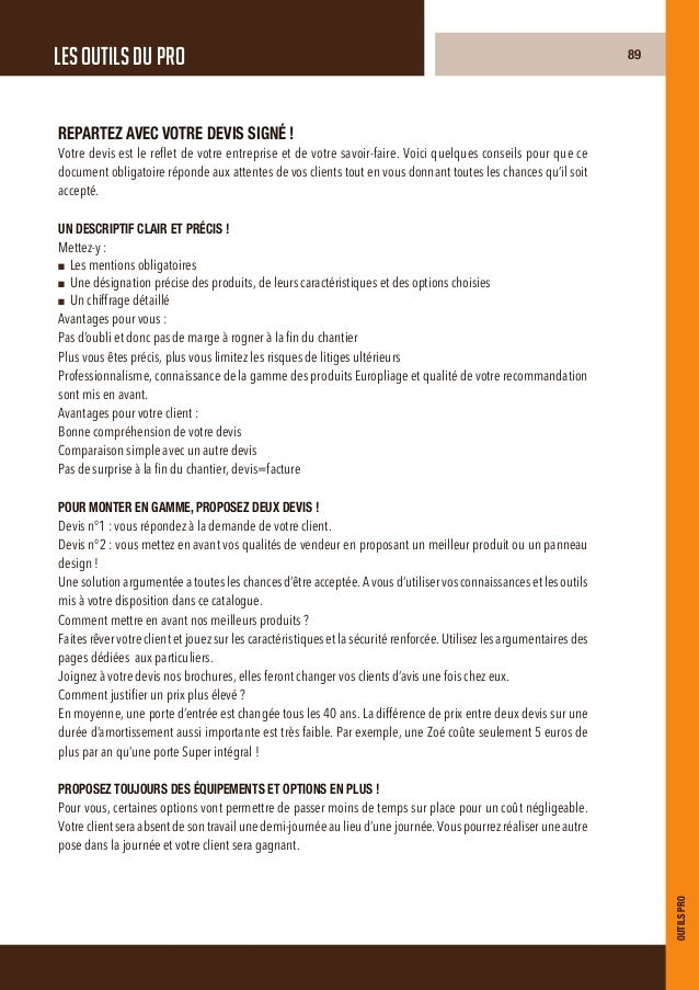 Catalogue Installateurs Europliage 2013 Portes Blindées design