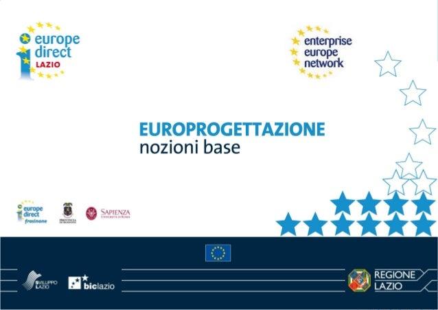 Inquadramento generale •  Le opportunità di finanziamento dell'Unione europea derivano dall'accordo interistituzionale sul...