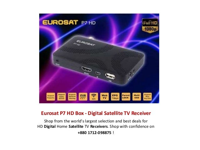 Eurosat P7 HD Box - Digital Satellite TV Receiver Shop from the world's largest selection and best deals for HD Digital Ho...