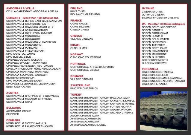 euroseating cinema brochure pdf interactive catalog