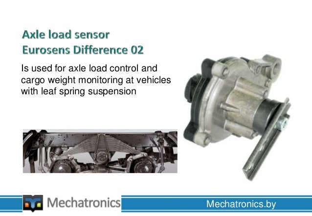 Axle Load Sensors From Jsc Mechatronics Installation