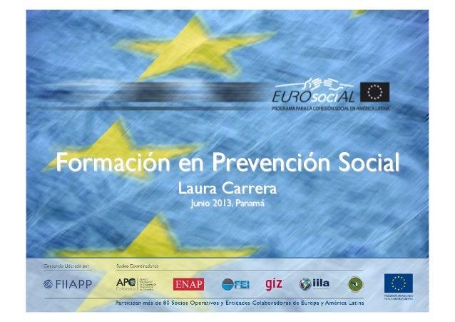 2Enfoques de formación en prevención1) Prevención del delito2) Seguridad ciudadana3) Seguridad Urbana