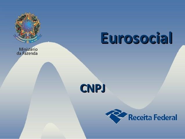 Eurosocial CNPJ