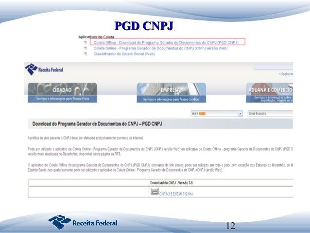 programa pgd-cnpj