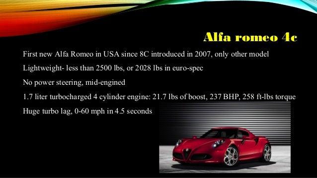 Euro Spec Cars Euro Vs American Cars