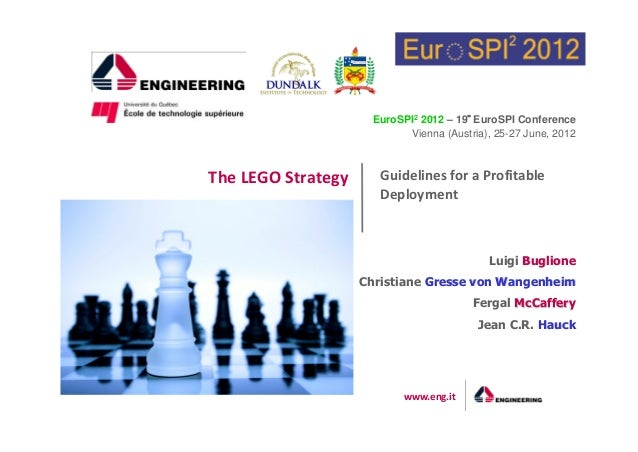 EuroSPI2 2012 – 19° EuroSPI Conference  Vienna (Austria), 25-27 June, 2012  Guidelines for a Profitable  Deployment  www.e...