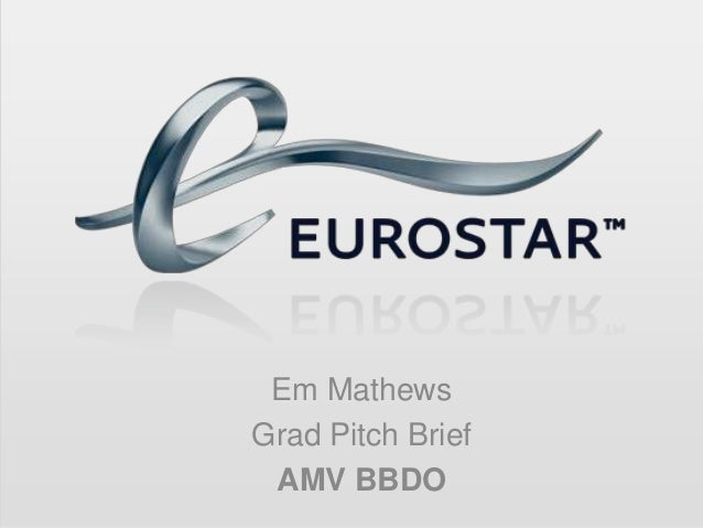 Em MathewsGrad Pitch Brief AMV BBDO