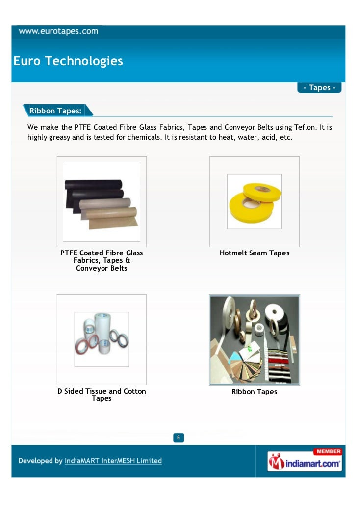 Euro Technologies                                                                                  - Tapes -  Ribbon Tapes...