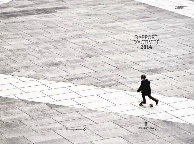 1 31 RAPPORT D'ACTIVITÉ 2014