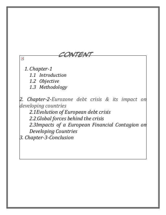 european debt crisis conclusion I think this experiment is coming to its conclusion, as the european central bank (ecb) the european debt crisis is an ongoing multi-year long debt crisis taking place in a handful of eurozone member states since the end of 2009.